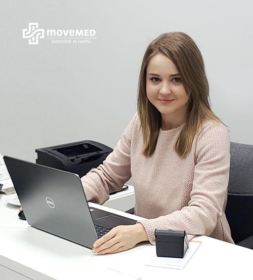 Monika Podos - dietetyk SCM MOVEMED wBochni